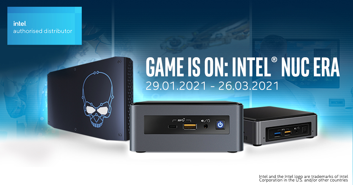 Buy Intel® NUC from ASBIS BALTICS & earn $2 - $4 per each unit