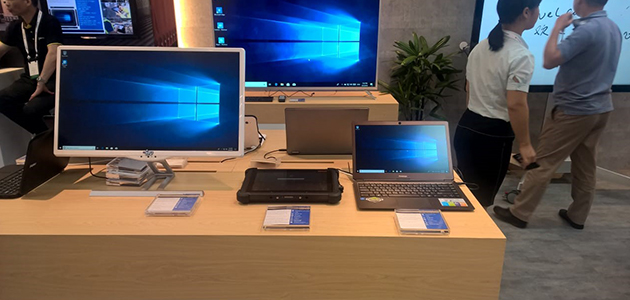 Microsoft introduced Prestigio Smartbook 133S at the exhibition in Taipei
