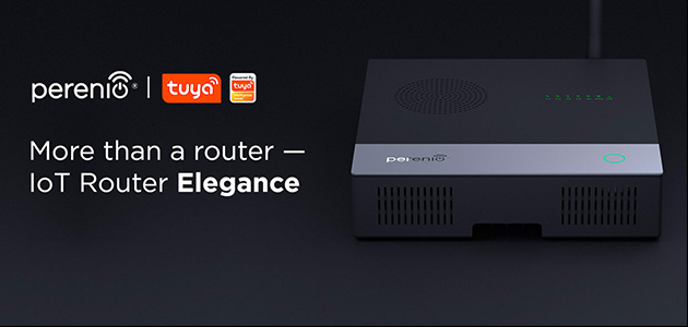 Perenio introduces the telecom version of IoT Router Elegance with Tuya Smart platform