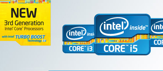 3rd Gen Intel® Core™ i3, i5, i7