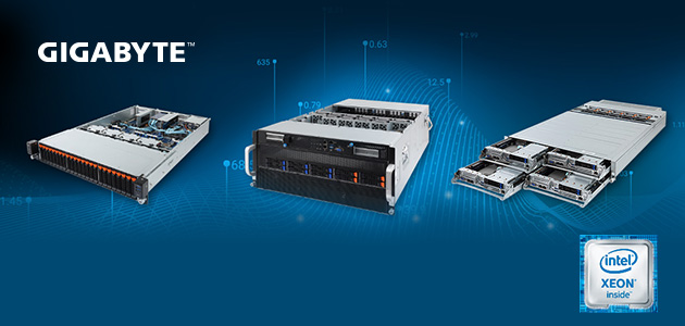 GIGABYTE Launches the New Servers Product Line with the Latest 2nd Gen. Intel® Xeon® Scalable Processors